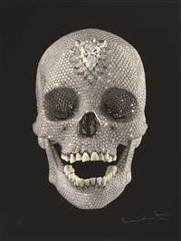 为了上帝的爱 (for the love of god - wonder) by damien hirst
