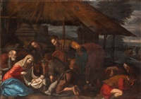 the adoration of the shepards by leandro da ponte bassano