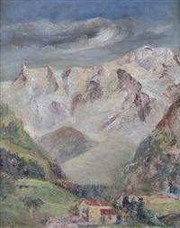 monte bianco by gianfranco campestrini