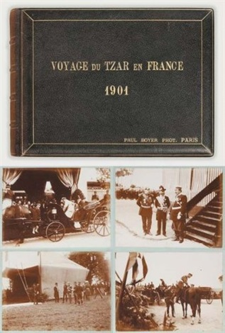 voyage du tzar en france album w 100 works quarto by paul le boyer