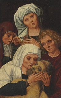 the lamentation by gerard david