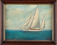 portrait of a yawl by joe selby