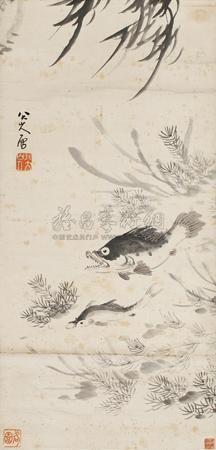 鱼 (fish) by bada shanren