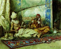 arabs in interior by attilio simonetti