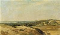 a dune landscape by johannes graadt van roggen