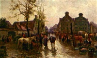 marktplatz by josef oberhammer