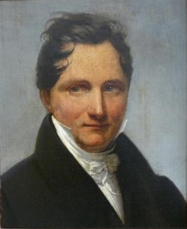 portrait dhomme by henri françois riesener