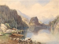 gebirgssee by anton altmann the younger