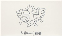 angel by keith haring