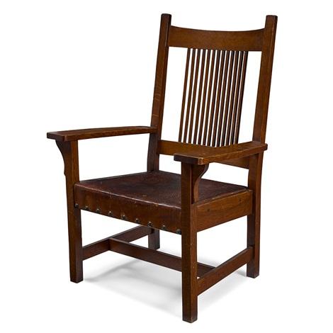 Spindle Armchair, 337 By L.u0026 J.G. Stickley On Artnet