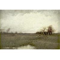 autumn landscape by dubois fenelon hasbrouck