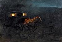 carrozza nella notte by vittorio cajani