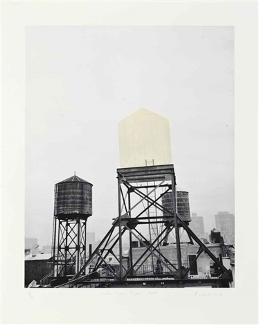 water tower project by rachel whiteread