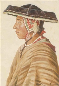indio del cuzco (+ another; 2 works) by carl t. dreyer
