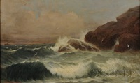 coastal scene by james harvey young