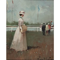at the races (+ by the river; 2 works) by juan giralt lerin
