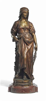 figure entitled graziella by eugène marioton
