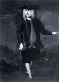 portrait of a gentleman by willem verelst