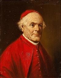 portrait eines kardinals by lajos koloszvary
