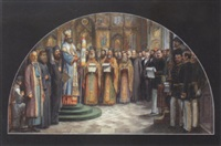 dedication of a russian orthodox church by karl jobst