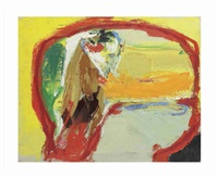 untitled (head of spring) by asger jorn