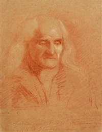 portrait of an old man by benjamin robert haydon