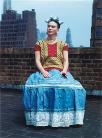 frida kahlo in new york by nickolas muray