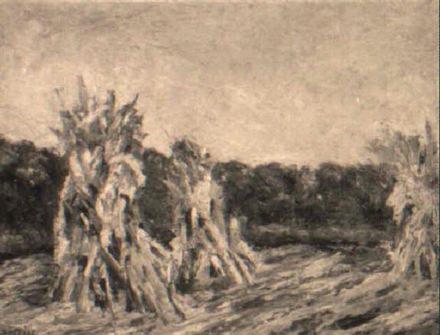 haystacks by walter griffin