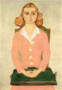 portrait de mademoiselle simone guillaume by etienne cournault