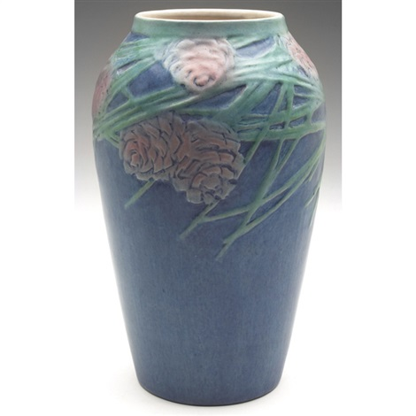 vase executed by henrietta bailey by newcomb college pottery