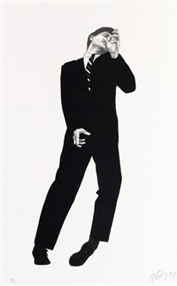 men in the cities: study of dave by robert longo
