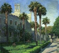 palms of vorontsky palace by margarita kolobova