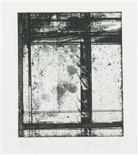 the skowhegan print by brice marden