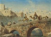 crossing the bridge by louis tesson