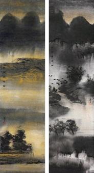 水乡的记忆 (2 works) by bo yun