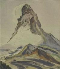 mattherhorn b. zermatt by albert nyfeler