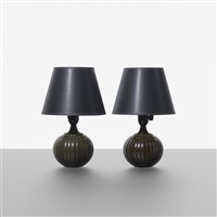 table lamps (pair) by just andersen