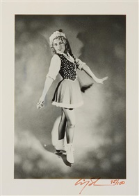 untitled (ice skater) by cindy sherman