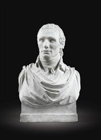 portrait d'antoine-denis chaudet by jean-joseph foucou