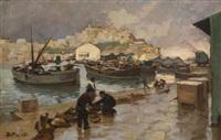 pêcheurs devant salé by dario mecatti