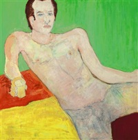 arlan iverson by beauford delaney