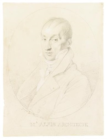 the architect guillaume edouard allais by jean auguste dominique ingres