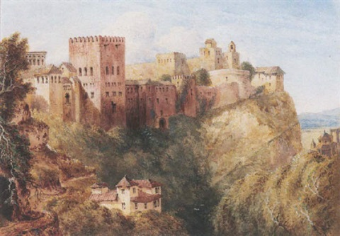 the alhambra granada by joseph murray ince