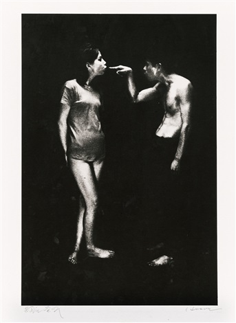man and woman #19 by eikoh hosoe