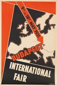 budapest, international fair by sándor bortnyik