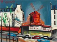 das moulin-rouge in paris by wilhelm goliasch