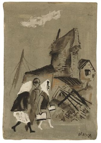 spanish civil war by william gropper