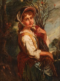 the wood gatherer by john thomas peele