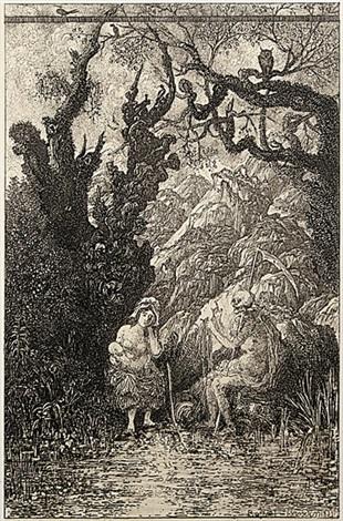 la mère et la mort by rodolphe bresdin