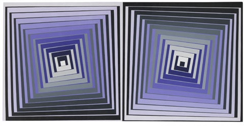 inogue n° p 1050 by victor vasarely